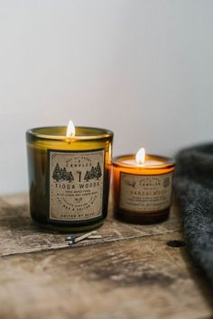 """unitedbyblue: """" Bring the outdoors in. United By Blue"""" Put these around the wood wick candle Diy Candles, Candle Wax, Scented Candles, Bougie Candle, Soy Candle Making, Aromatherapy Candles, Slow Living, Cozy Living, Burning Candle"""
