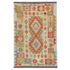 Handmade Carpet Oriental Rug Kilim Rugs with Traditional Multicolored Rug Geometric Rug, Tribal Rug, Plastic Carpet Runner, Asian Rugs, Patterned Carpet, White Carpet, Carpet Colors, Woven Rug, Kilim Rugs