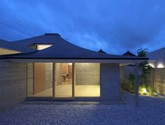 Broken Pitched Roof House.  Architects: NKS Architects.  Location: Nakatsu, Oita, Japan. 2011