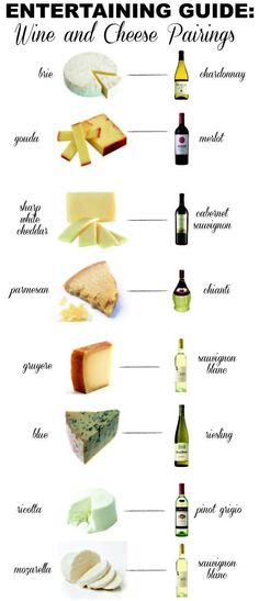 Entertaining Guide: Wine & Cheese Pairings