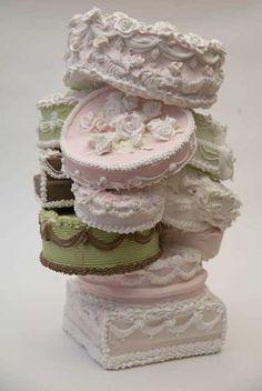 Will Cotton, Cake sculpture