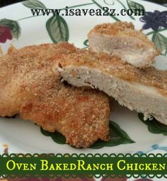 oven baked ranch chicken recipe