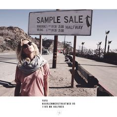 Yaya sample sale -- Halfweg -- 05/06-06/06