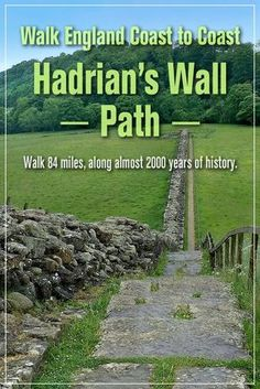 Hadrian's Wall Walk West to East TouristSite Cool Places To Visit, Places To Travel, Travel Destinations, Scotland Travel, Ireland Travel, Roman Britain, Britain Uk, Hadrian's Wall, England And Scotland