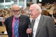 http://gigazine.net/news/20140623-ama-cern/ Dr. Higgs (right)