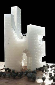 modelarchitecture:  LI-ZE SOHO Beijing, China, 2013 by steven... https://www.facebook.com/hdengineeringvn