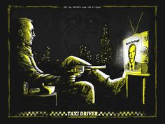 Taxi Driver - Zeb Love ---- Spoke Art Presents SCORSESE: An Art Show Tribute @ Bold Hype in NYC