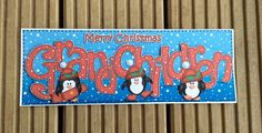 Grandchildren Christmas Card by TheBlenheimCardCo on Etsy