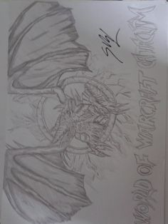 It's a drawing from World Of Warcraft Cataclysm.