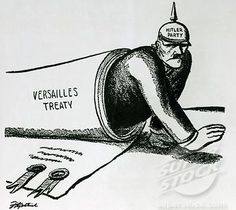 This cartoon is about the Treaty of Versailles. The Treaty Of Versailles ended the war. World History Teaching, World History Lessons, Us History, History Images, History Facts, World War One, In This World, Treaty Of Versailles, Socialism
