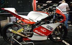 Mahindra 250cc - Danny Webb #99 Moto3 - right side view