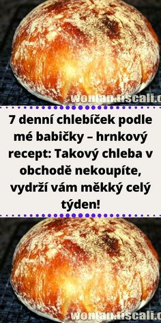 Czech Recipes, Ethnic Recipes, Mini Cheesecakes, Croissants, Bread Baking, Food Hacks, A Table, Bakery, Easy Meals