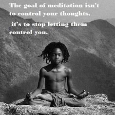 Meditation is key ❤️