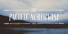 Pacific Northwest is a fun, handwritten font by Cultivated Mind. Pacific Northwest has been carefully hand painted and comes in two styles (Regular/Rough). This font works perfectly with the Pacific Northwest hand painted labels.