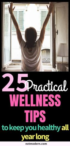 25 Practical Wellness Tips To Keep You Healthy All Year Long (Free Ebook) Holistic Wellness, Wellness Tips, Health And Wellness, Health Fitness, Health Goals, Free Ebooks, How To Stay Healthy, Exercise, Glow