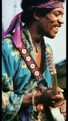 "Jimi Hendrix: Widely considered to be the most influential electric guitarist in rock and roll history. Hendrix is known for ""Are You Experienced"", his rendition of ""All Along the Watchtower"" by Dylan, and his version of ""The Star-Spangled Banner"", and many others. Hendrix was one of the first artists to pioneer the use of feedback effects and signal processing with his music in the studio. Many rock and roll Icons that have come to prominence after him owe their stature to his pioneering…"