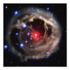 V838 Monocerotis is a red variable star in the constellation Monoceros about 20,000 light years from the Sun.