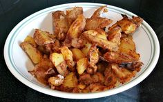 fat free french fries Needs a substitute for the 1 T flour otherwise a good recipe