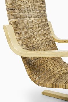 Alvar Aalto easy chair model 406 by Artek at Studio Schalling