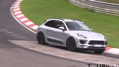 Spy Video of the Porsche Macan GTS at Nurburgring