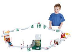 Fisher-Price Thomas the Train TrackMaster Holiday Cargo Delivery Set