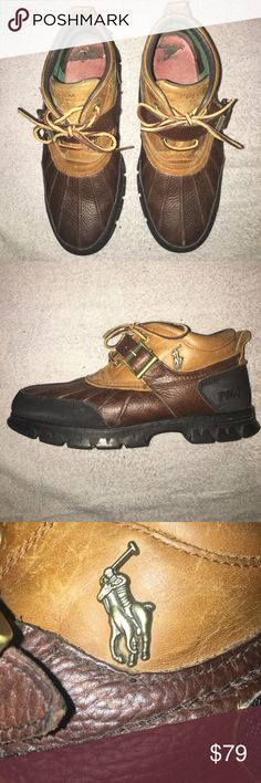 Polo Ralph Dover ||| Leather Only worn a couple times great condition Polo by Ralph Lauren Shoes Boots