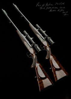 Westley Richards,7x57R Droplock Rifle, Pair double rifles