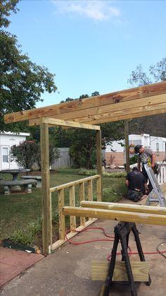 During rebuild