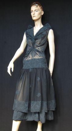 Knielange Kleider - TRAUM-STICK-KLEID***Unikat/handmade - ein Designerstück von raboti bei DaWanda