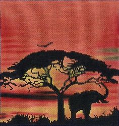 african+elephant+at+sunset.jpg (300×319)