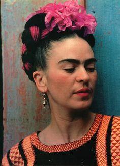Frida Kahlo by Nickolas Muray (detail)  1939