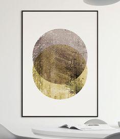 Printable Abstract Art Abstract Circles printable wall art Artifact Uprising, Yellow Wall Art, Small Art, Moon Art, Printable Wall Art, New Art, Abstract Art, Illustration Art, Graphic Design
