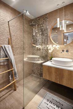 Toilets with pellets - Home Fashion Trend Washroom Design, Bathroom Design Luxury, Modern Bathroom Design, Interior Design Living Room, Wc Design, Design Ideas, Bathroom Design Inspiration, Home Room Design, Beautiful Bathrooms