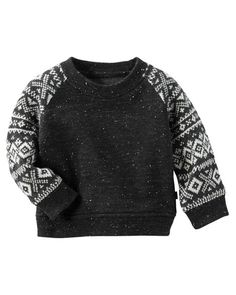 Baby Boy Geo Raglan Pullover from OshKosh B'gosh. Shop clothing & accessories from a trusted name in kids, toddlers, and baby clothes.