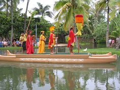 Royal Canoe Pageant Show at Polynesian Cultural Center