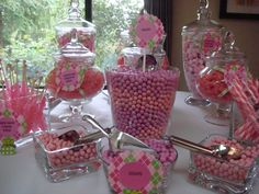 BGK Baby shower - Candy Station by Andrea Hancock - The Ticket Kitchen.