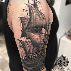 Progress shot by artist @tattoos_by_stacy #supportart #support #tattoo #artists #worldwide #inksav .