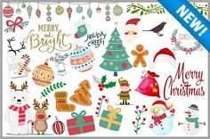 Holiday Clipart (100+ pieces)
