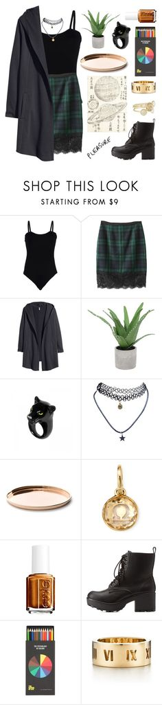 """""""☯ 10 . 18 . 15 / 1 ☯"""" by jamanabetsy ❤ liked on Polyvore featuring Baguette....., H&M, Threshold, Nach Bijoux, Wet Seal, Discipline, Ippolita, Essie, Charlotte Russe and Polite"""
