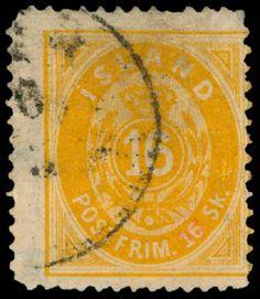 Iceland 1873. 16 Skilling