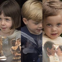 Downton Abbey ..The Last Season .... The next generation.  How I wish they could have known the love of both their parents.  ..