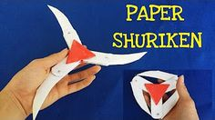 How to Make a Transforming Ninja Star! (8-Pointed) - YouTube