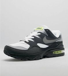 Nike Air Max 94 Anthracite Volt. Available now.  http://ift.tt/1M1wT9v