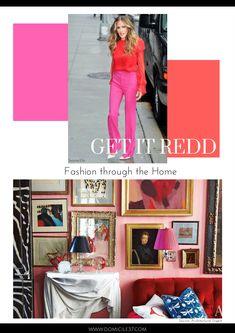 Fashion through the Home: Sarah Jessica Parker - Domicile 37
