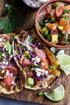 Cuban Fish Tacos with Citrus Mango Slaw Best Fish Taco Recipe, Healthy Shrimp Tacos, Gluten Free Tacos, Chipotle Crema, Recovery Food, Vegetarian Tacos, Half Baked Harvest, Fries In The Oven, Fish Tacos
