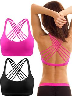 icyzone Workout Sports Bras for Women - Women's Running Yoga Bra Sale price$33.00 Regular price$50.00 #fashion #fashionista #fashionstyle #fashionable Over The Top, Streetwear, Yoga Bra, Sports Women, Workout, Clothes, Mesh Fabric, Yoga Shorts, Sport Bras