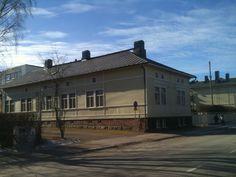 Pitkäkatu 1 (kuva palokujan puolelta), Vaasa, Finland
