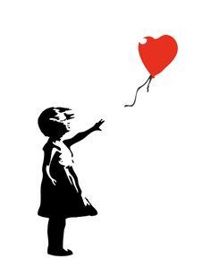The Balloon Girl | kaart BloomPost