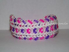 Snakebelly GLOW  Rainbow Loom Snakebelly Design by RainbowLoomLuv