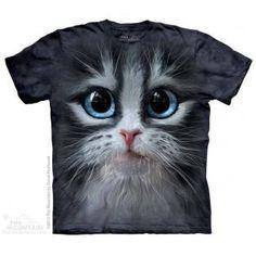 Camiseta Gatita Gris Adulto